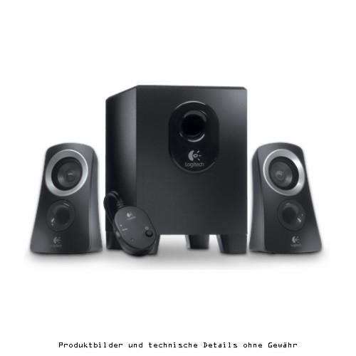 Logitech Z313 Speaker 2.1 schwarz