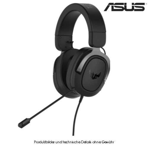 Asus Headset TUF H3 Gaming Headset silber