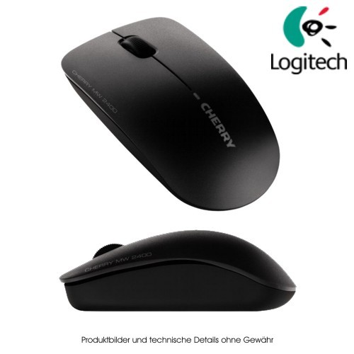 Cherry MW 2400 cordless Mouse black update