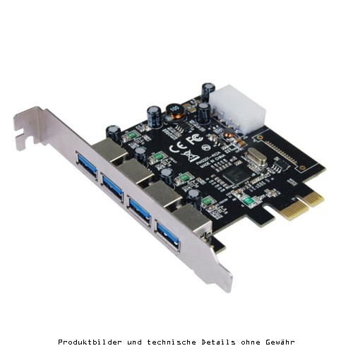 Longshine PCIe LCS-6380-4 4x USB 3.0