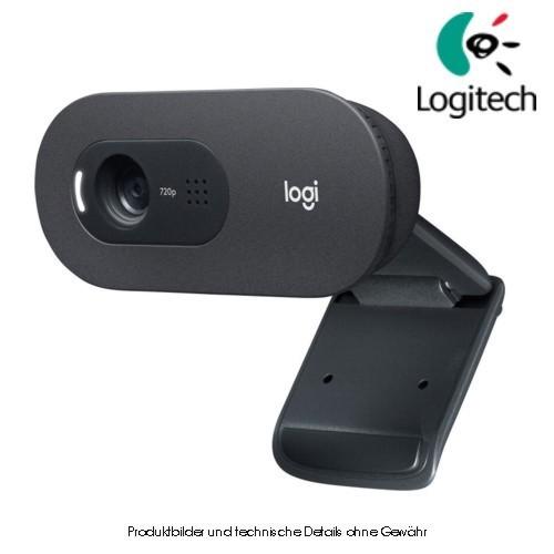Logitech HD Webcam C505e black business