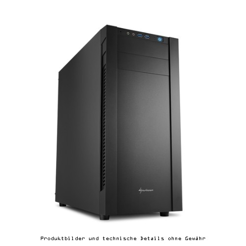 Sharkoon Midi Tower S25-V - ATX USB 3.0