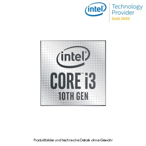 Intel Core i3-10100 - 3,6 GHz - LGA1200 - Box