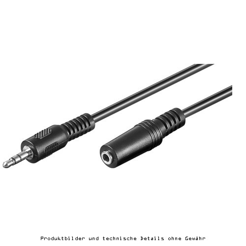 Stereo Kabel 2x 3,5mm S/B 2,0 m