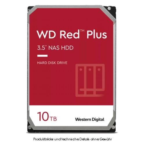 WD Red Plus WD101EFBX 10TB SATA 6Gb/s SOHO-NAS CMR