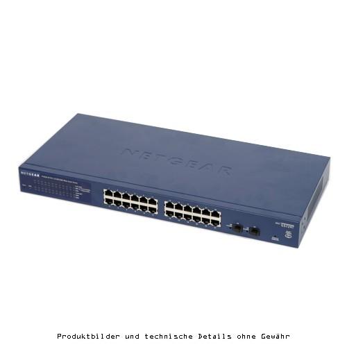 Netgear ProSafe GS 724TV4 24Port x1000
