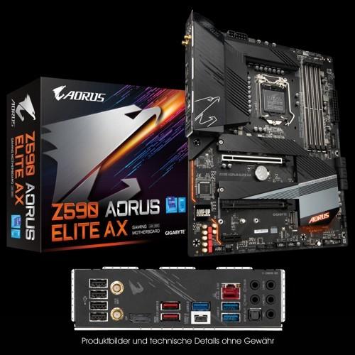 Gigabyte Z590 Aorus Elite AX, ATX, LGA 1200