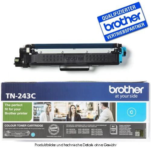 Brother TN243C - Cyan - Original Toner