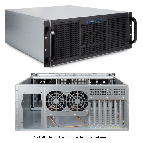 Inter-Tech IPC 4U-40248 - Rack - 4HE /525mm