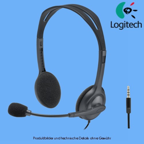 Logitech Stereo H111 Headset On-Ear kabelgebunden