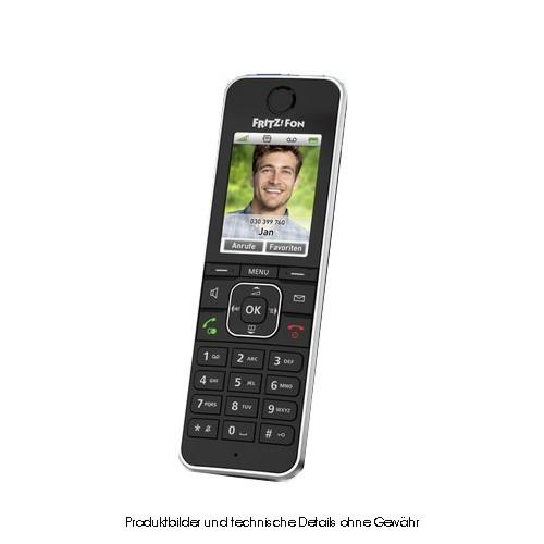 AVM FRITZ!Fon C6 black Schnurlos DECT-Telefon