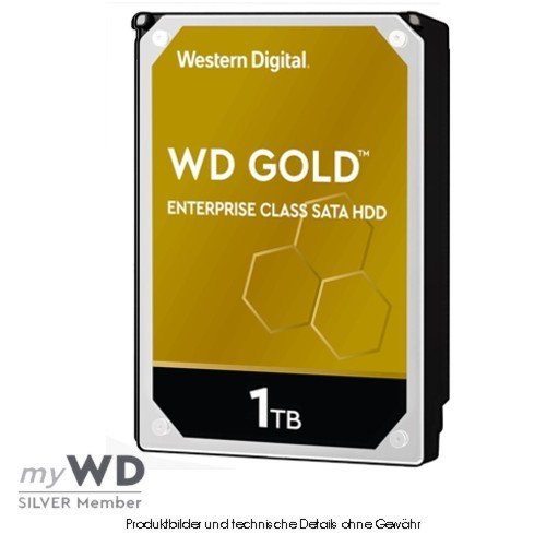 Western Digital Gold Enterprise 1TB WD1005FBYZ, CMR