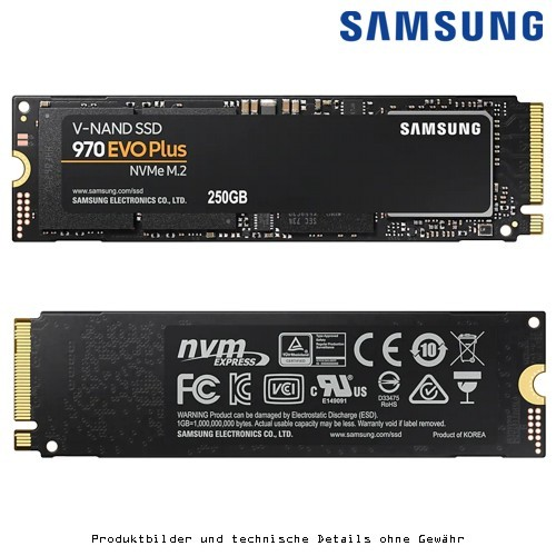 Samsung 970 EVO Plus MZ-V7S250BW 250GB