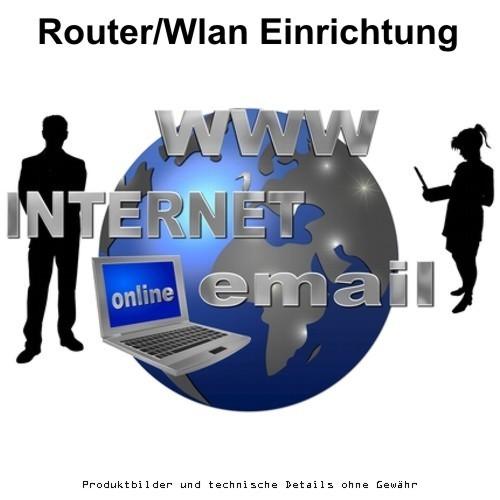 Vor-Ort-Service Router-Installation