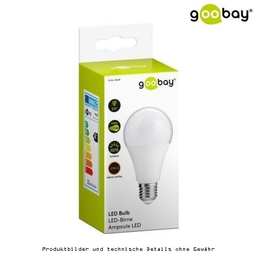 Goobay LED-Birne 11W, Sockel E27